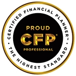 Certified Financial Planner button