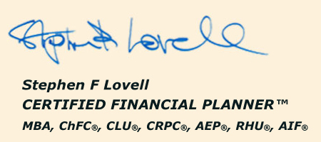 Stephen F Lovell Signature