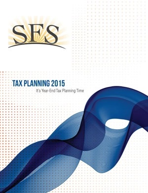 Tax Planning 2015 - It's Year End Tax Planning Time