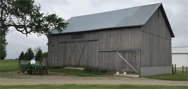 Historical Barn, Eastern Fountain County, IN