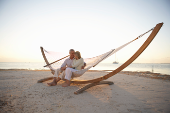 Plan for Success - Couple in Hammock on the Beach