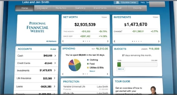 Financial Planning Software and Personal Finance Software