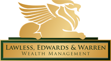 Lawless, Edwards, & Warren Wealth Management Logo