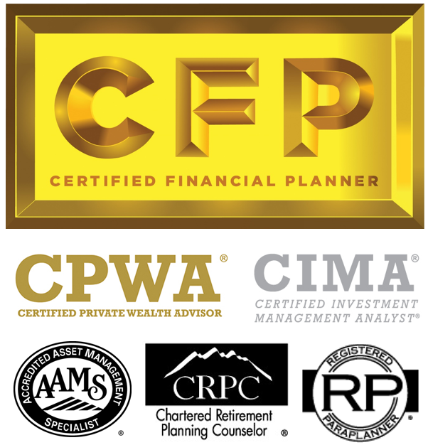 Certifications Liang Quinley Wealth Management