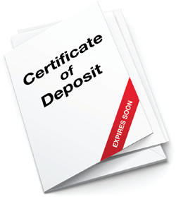 Certificate of Deposite