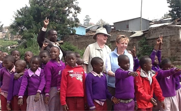 The Brownings in Kenya